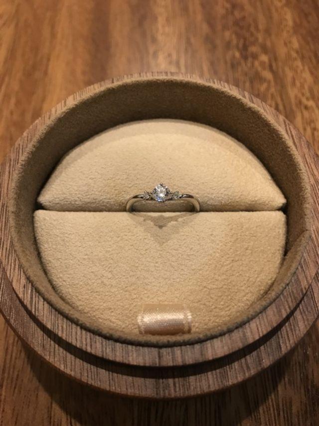 【婚約指輪】ナデシコ