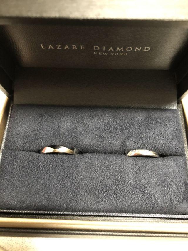 結婚指輪をペアで買いました!
