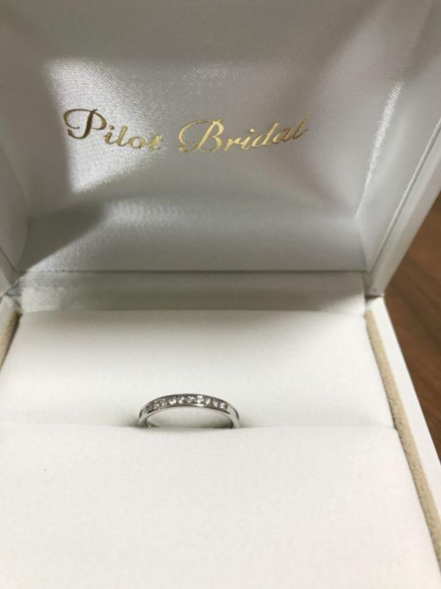 誕生日プレゼント兼婚約指輪としていただきました