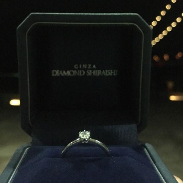 思い出の場所でプロポーズを受けました!