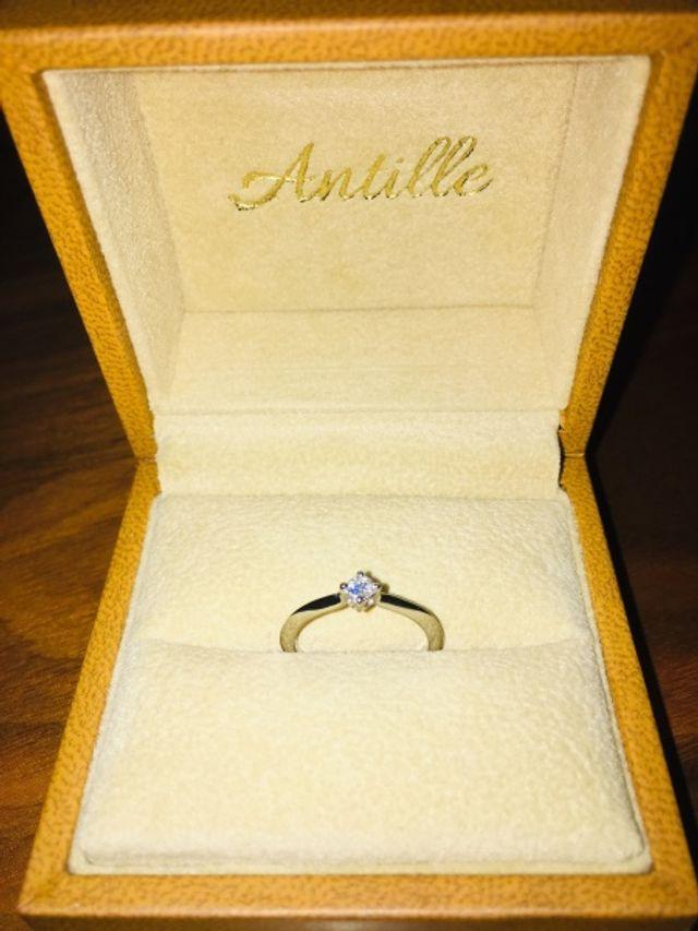 婚約指輪です!