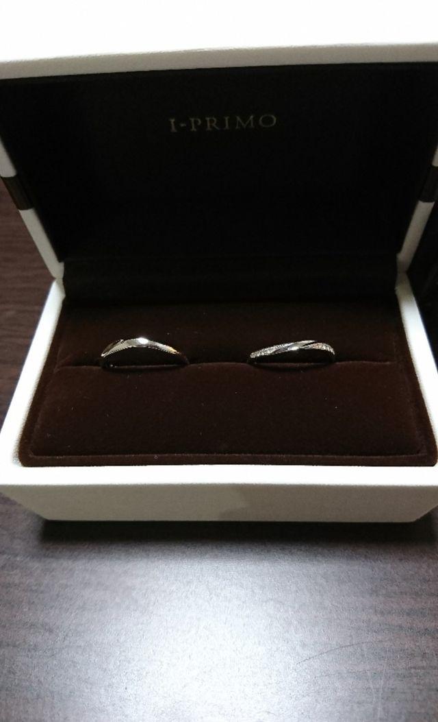 ペルセウスの指輪です。ダイヤが2ヶ所にあるのが素敵です。