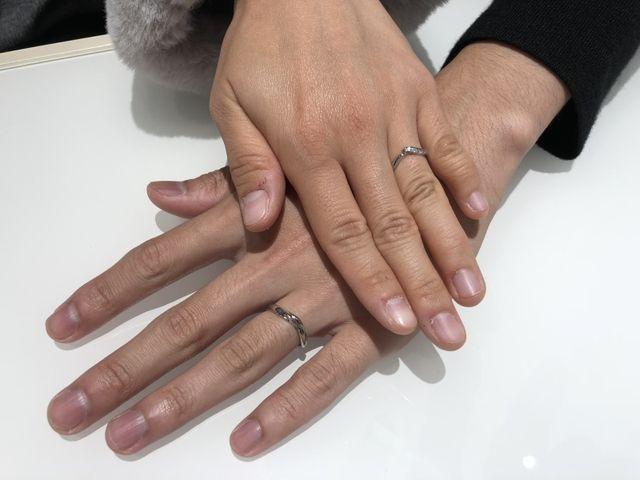 NIWAKAの初桜の指輪を購入しました