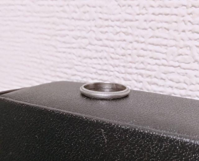 アイプリモで購入した指輪です。数年経ちますが歪みなしです♪