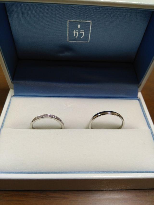 結婚指輪 注文から3ヶ月程かかりました。