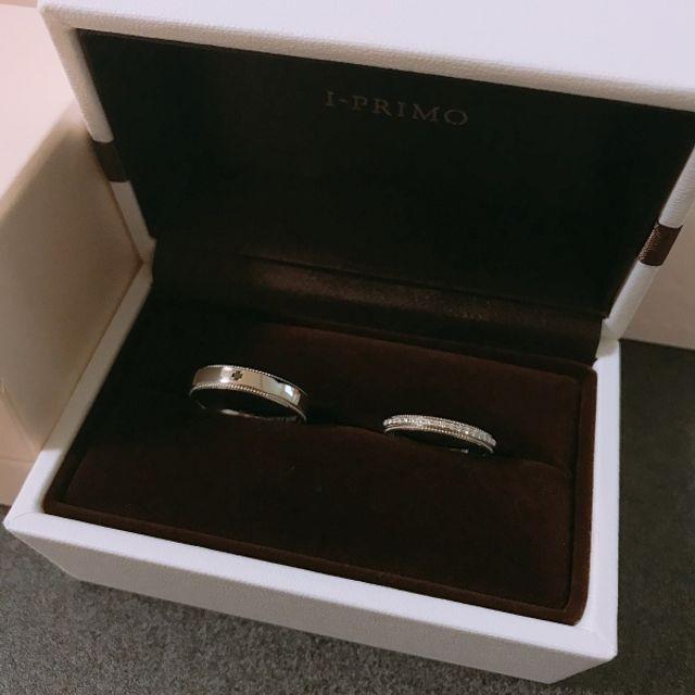 フレイとヘリオスの結婚指輪♡♡