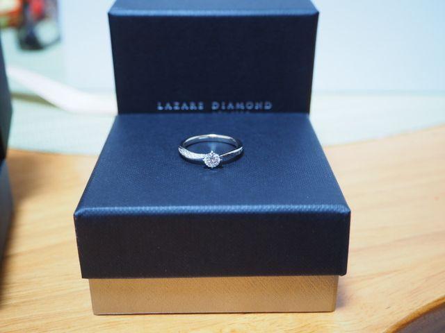 運命の婚約指輪に出会えました