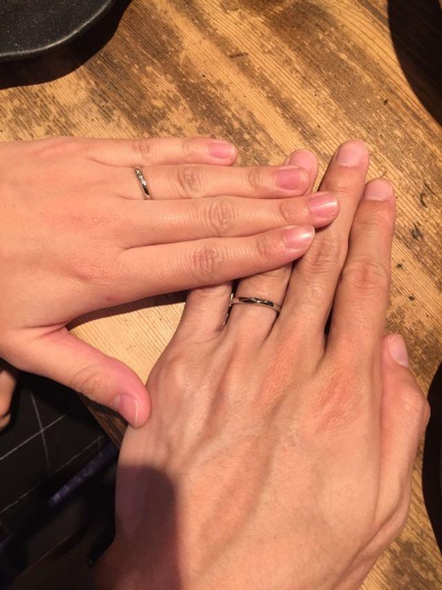 購入した指輪
