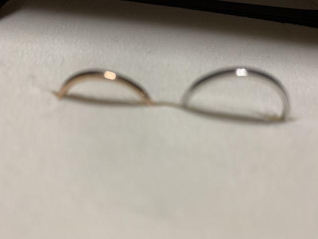 シンプルな指輪が欲しかった。
