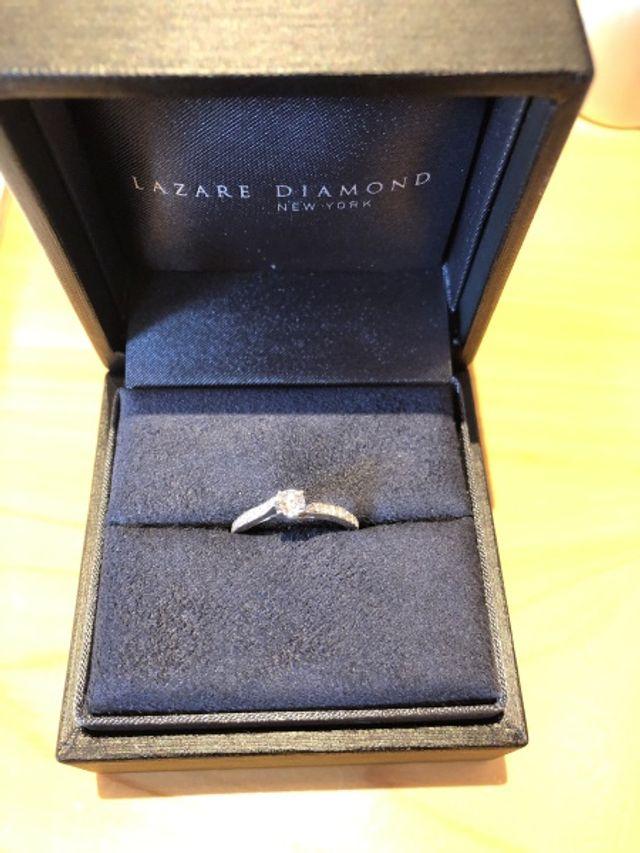 プロポーズはこの箱でしてくれました!