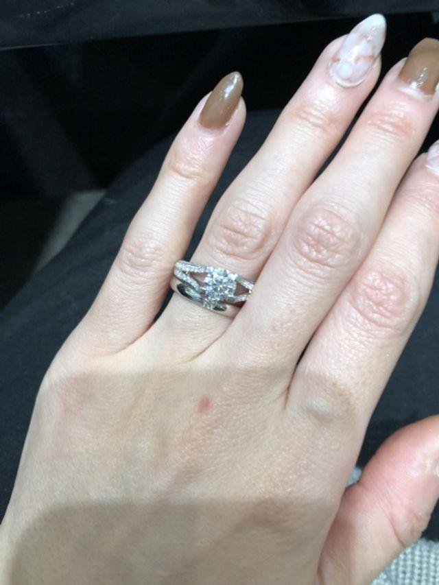 結婚指輪はこれにする予定です