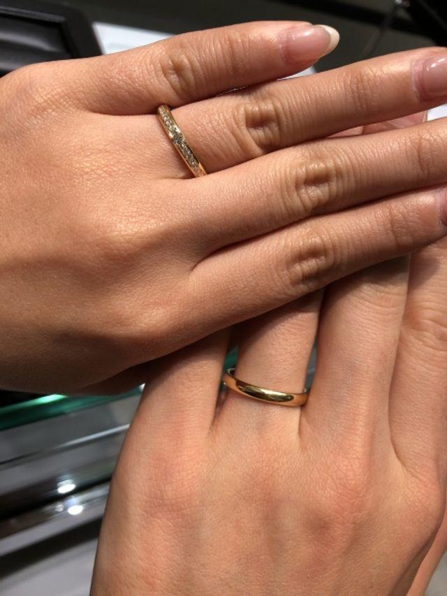 結婚指輪決定☆アプローズ