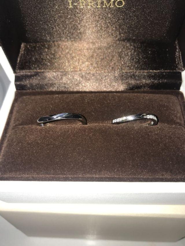 2人の結婚指輪です!
