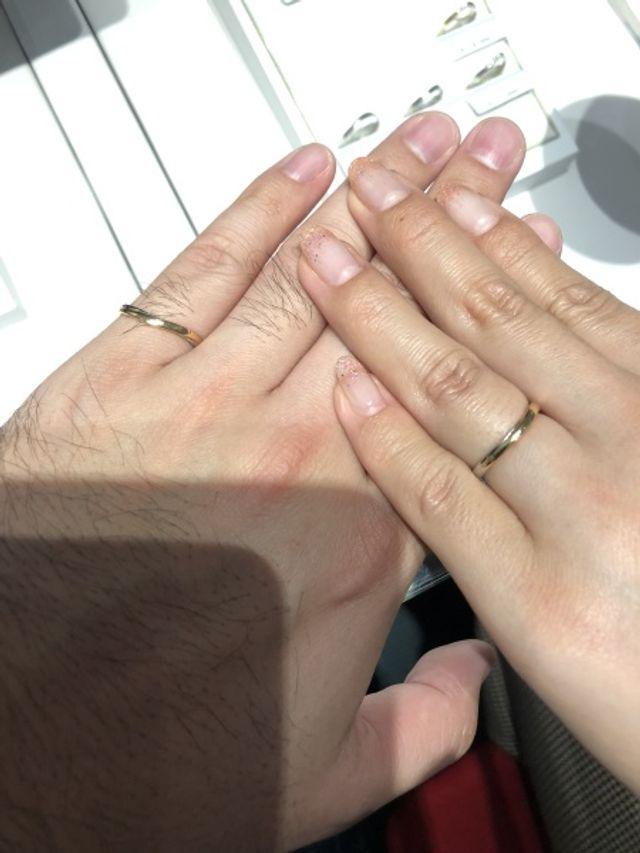 他ブランドよりしっくりきた指輪でした。