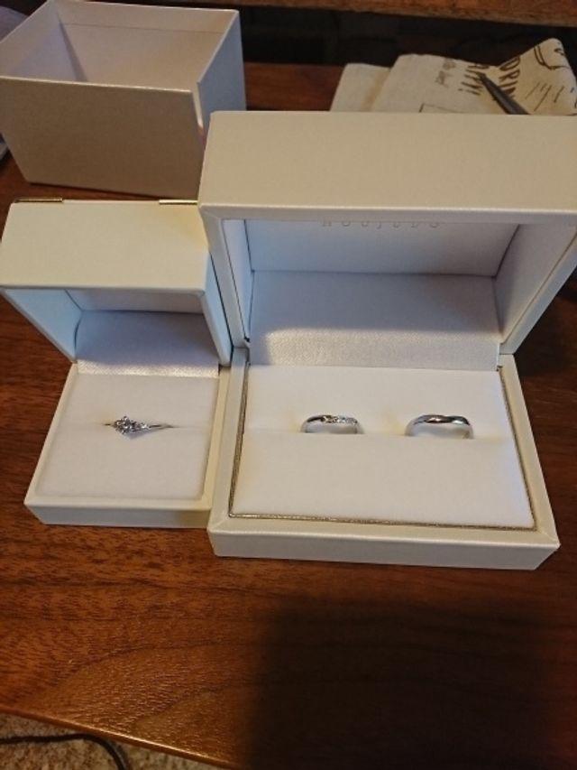 婚約指輪、結婚指輪どちらも購入。とても満足してます。