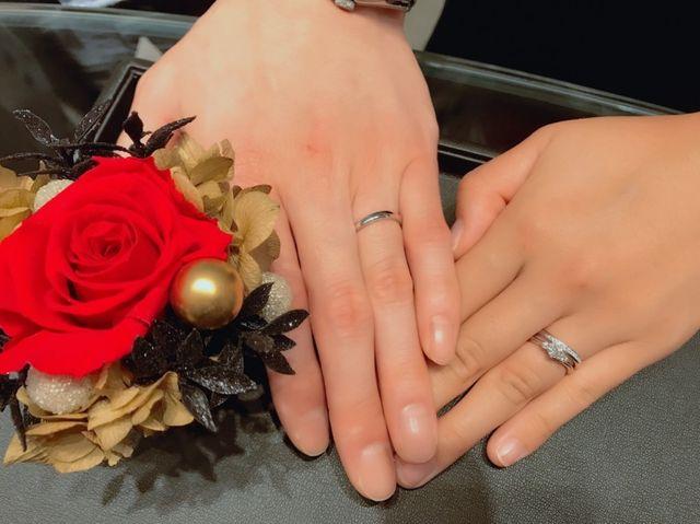 やっと見つけた結婚指輪