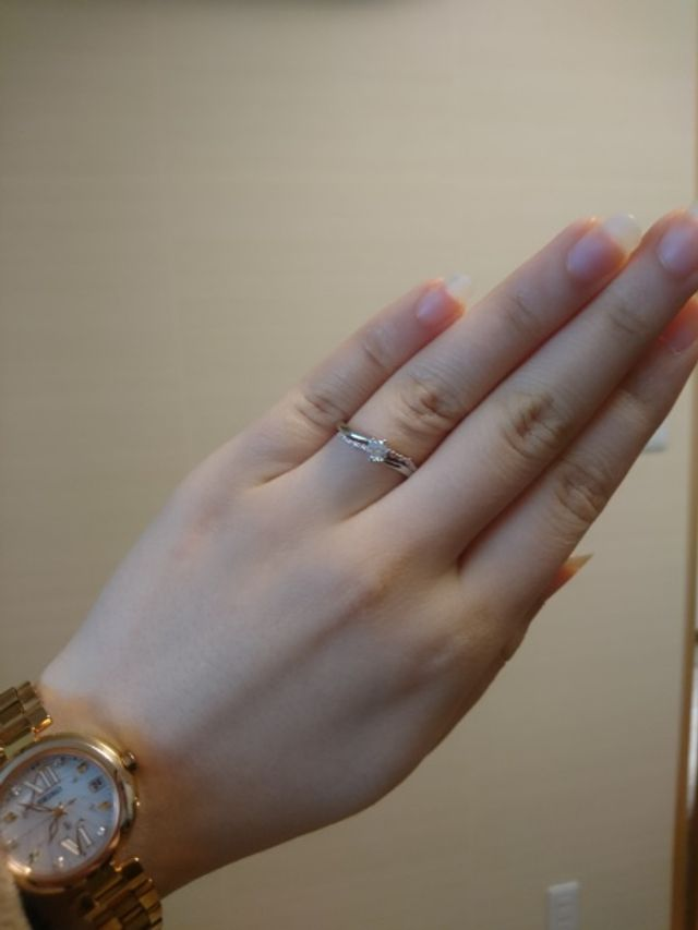 ピンクダイヤモンドがお気に入りです。