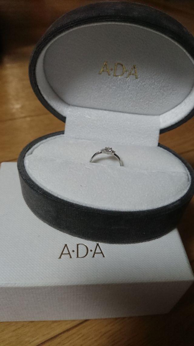 シンプルでダイヤモンドリングらしい指輪で嬉しかったです