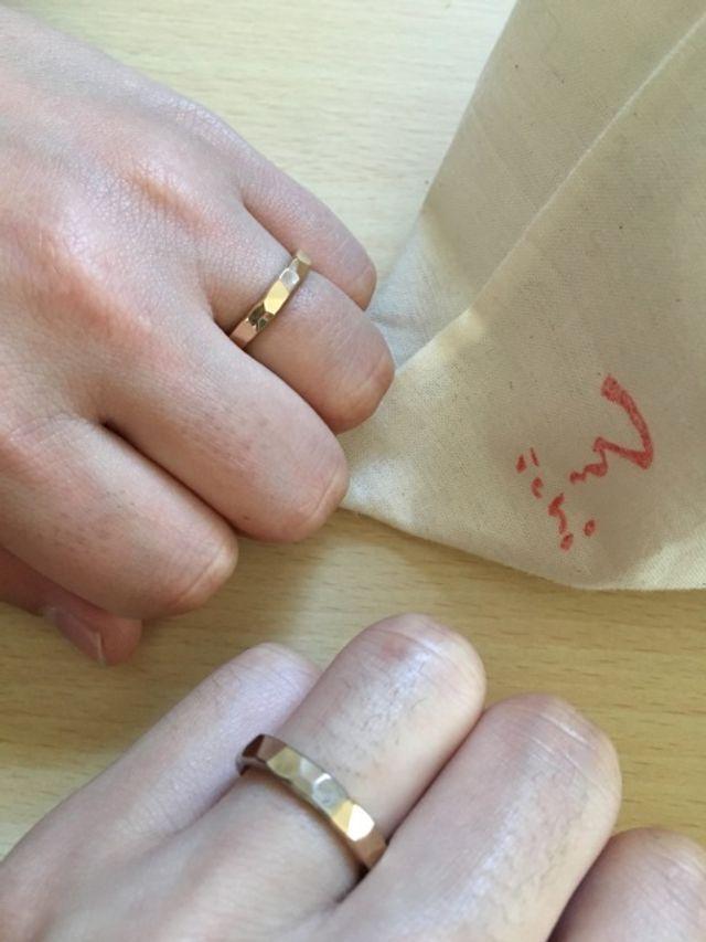 結婚指輪として購入しました!