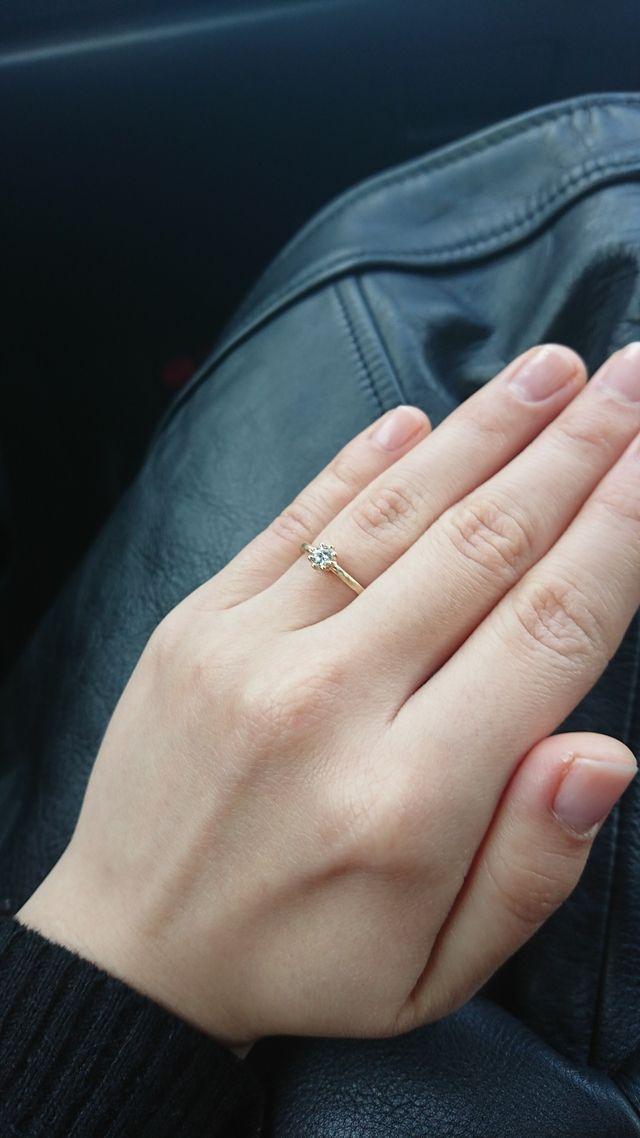 肌馴染みの良い指輪