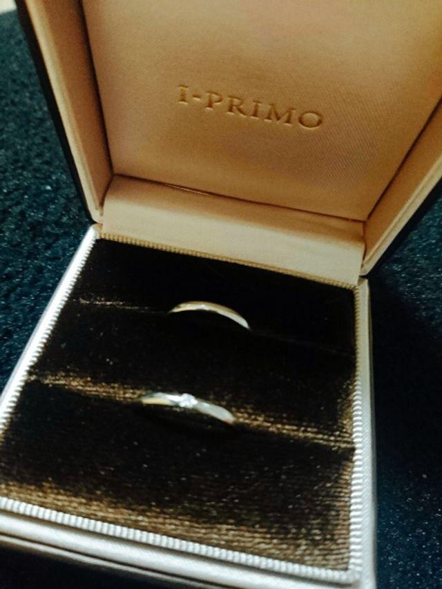 アイプリモで購入した結婚指輪です。
