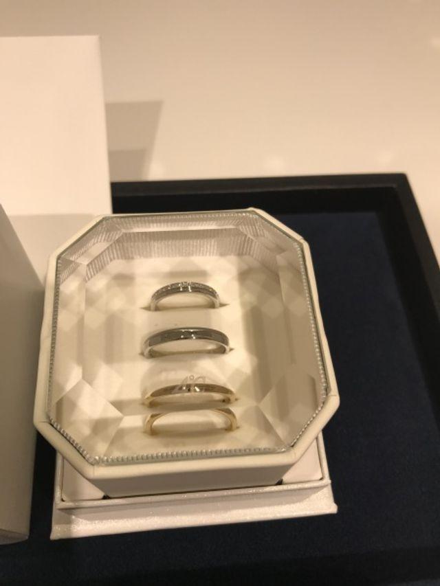 店長さんの素晴らしい対応、指輪にも一目惚れし、購入しました!