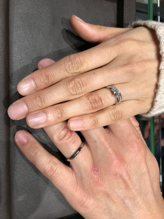 2018年モデルの結婚指輪を購入しました!