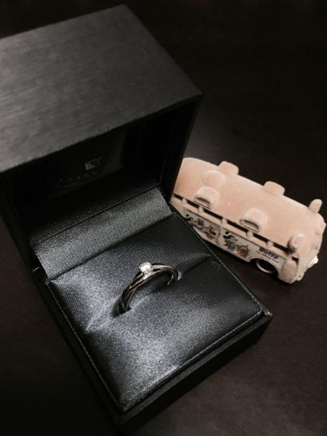婚約指輪*ラザールダイヤモンド