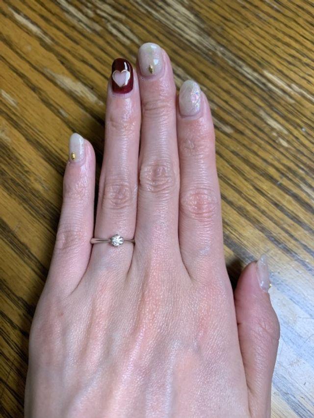 実際購入した指輪