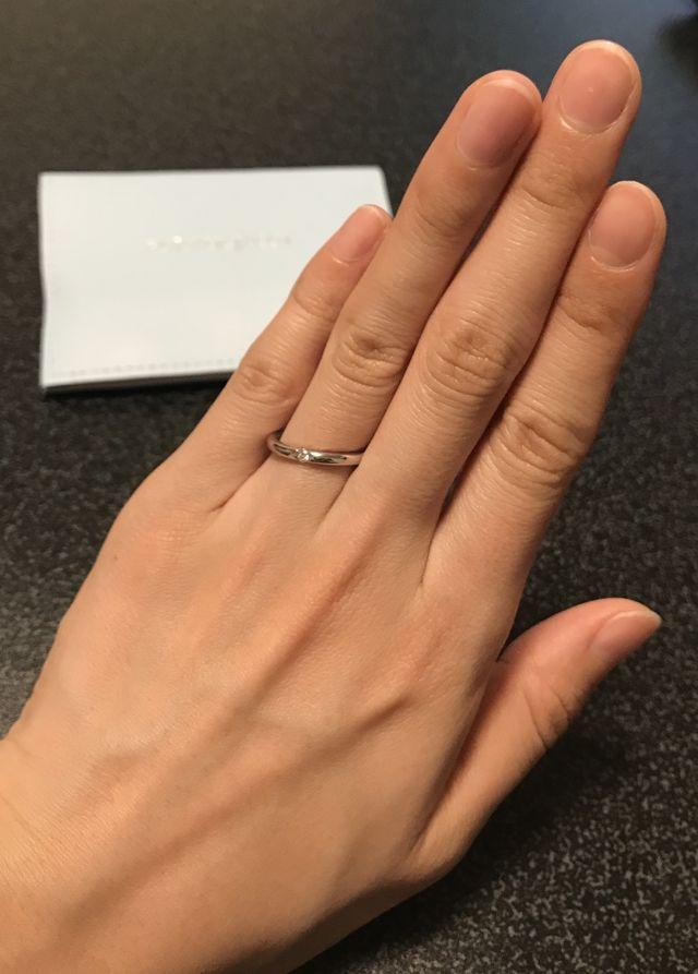 たくさん悩んだけど、お気に入りの指輪に出会えました。