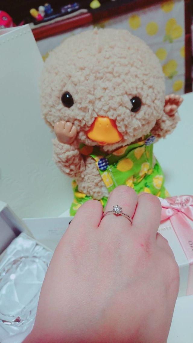 プロポーズしてもらった日の記念です