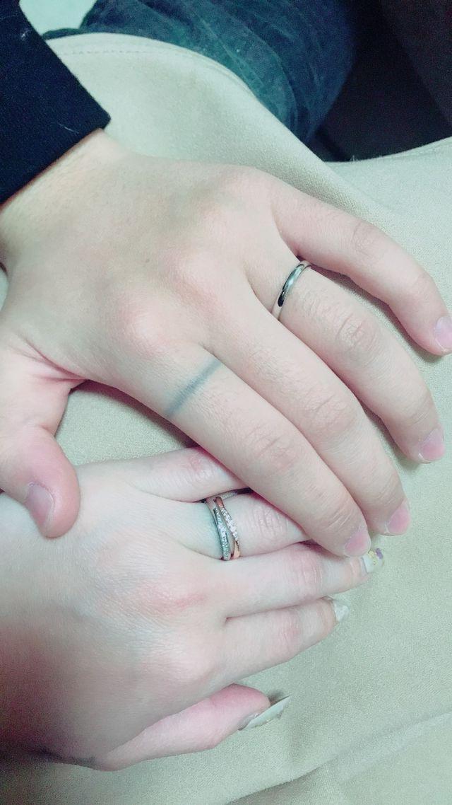 エタニティーリングに近い結婚指輪が良かったので 大満足です!