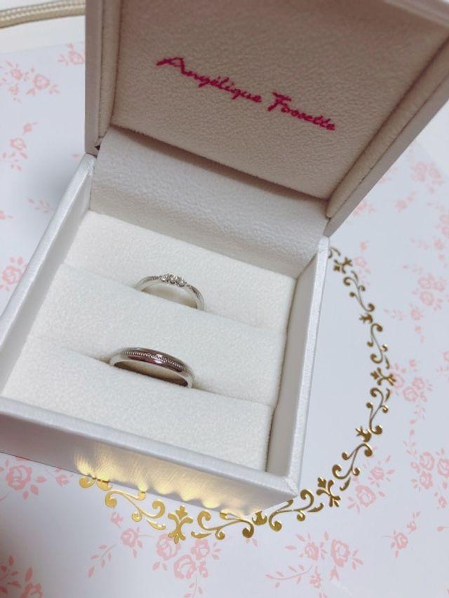 ワンポイントのある指輪が欲しくて購入しました。