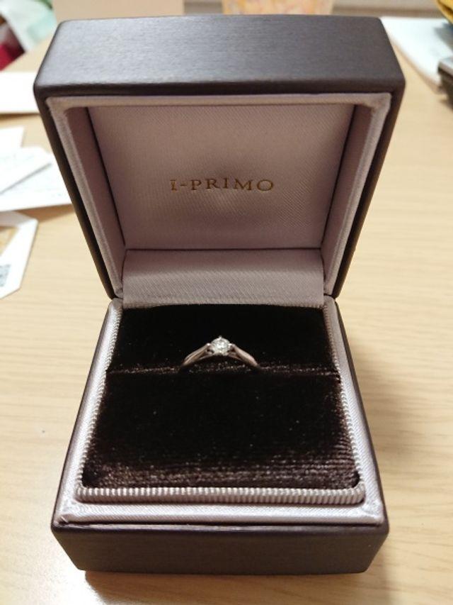 とても素敵な指輪でした! 嫁にも喜んでもらえました✨