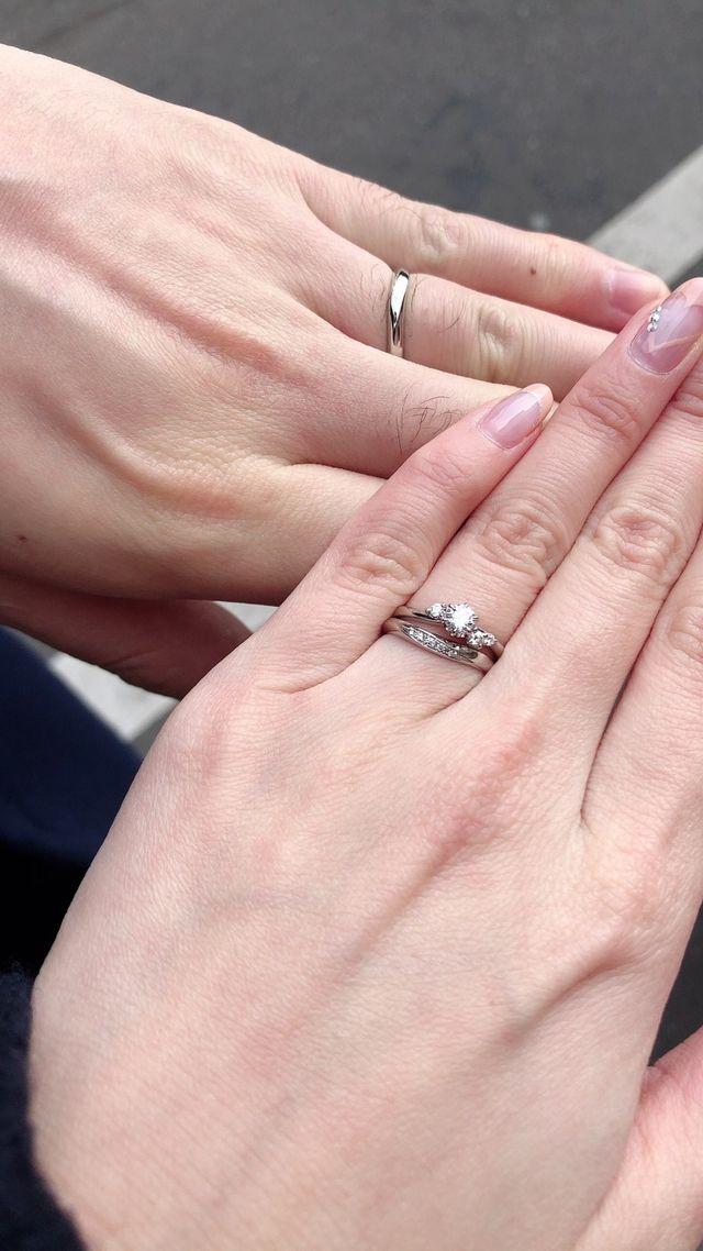 結婚指輪・婚約指輪着用時