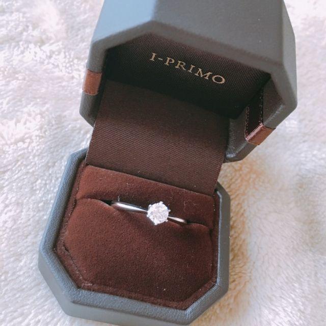 プロポーズの時にくれた婚約指輪です。