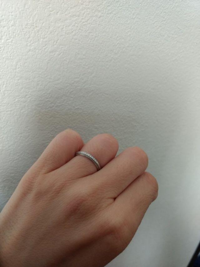 新婦用の結婚指輪です