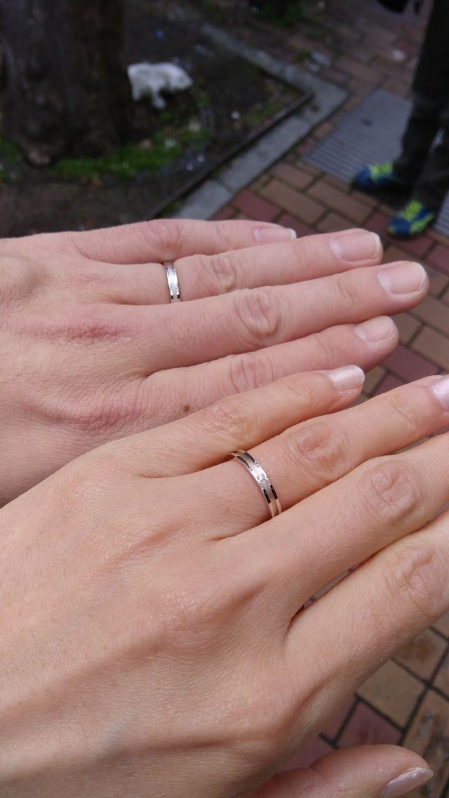 結婚10周年記念に購入しました。