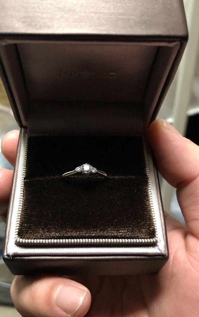 これでプロポーズ!一生懸命選んだから喜んでくれたら嬉しい。