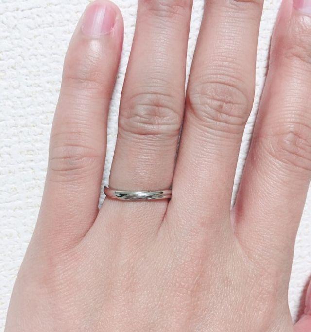 男性用 結婚指輪 サイズ14.5号 刻印文字数20文字