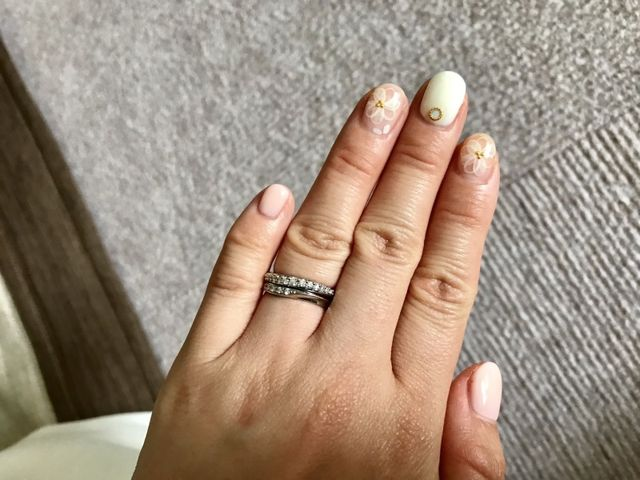 婚約指輪・結婚指輪の重ね付け