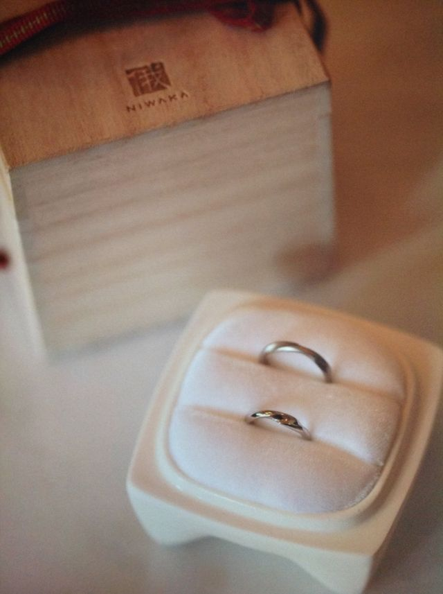 NIWAKAの結婚指輪