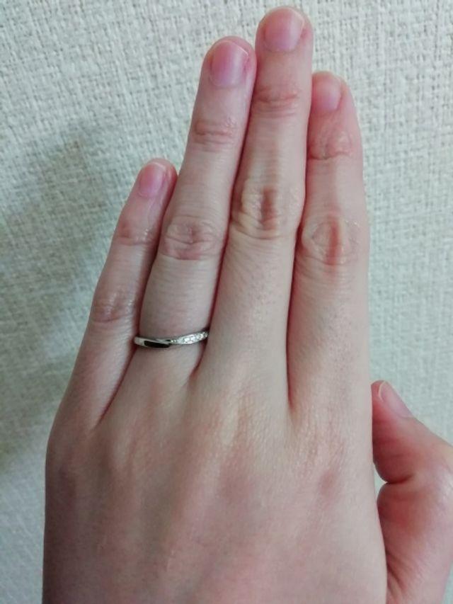 結婚指輪のみ