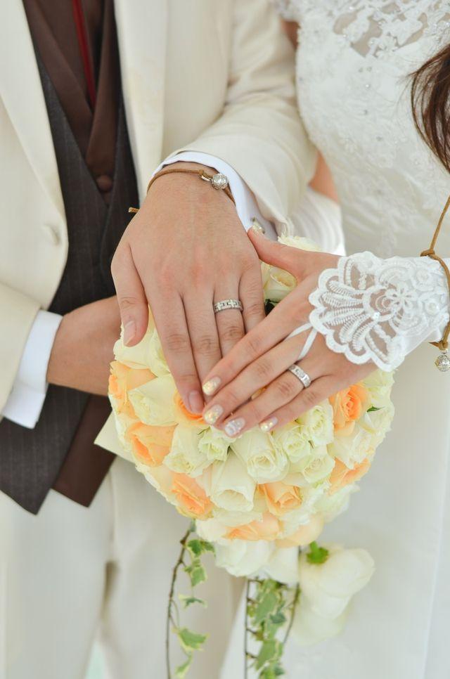 結婚式の時の写真です★