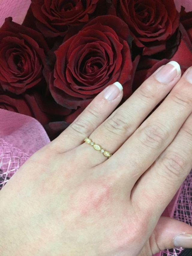 プロポーズをしてもらった時の写真です。