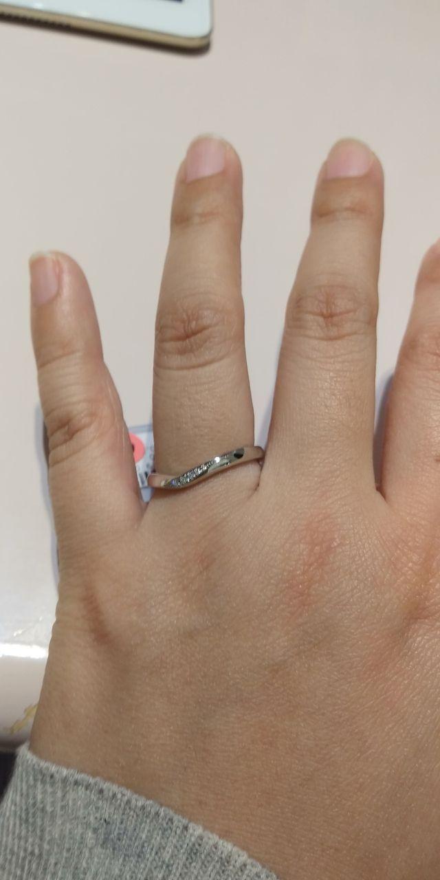 トレセンテラインの結婚指輪
