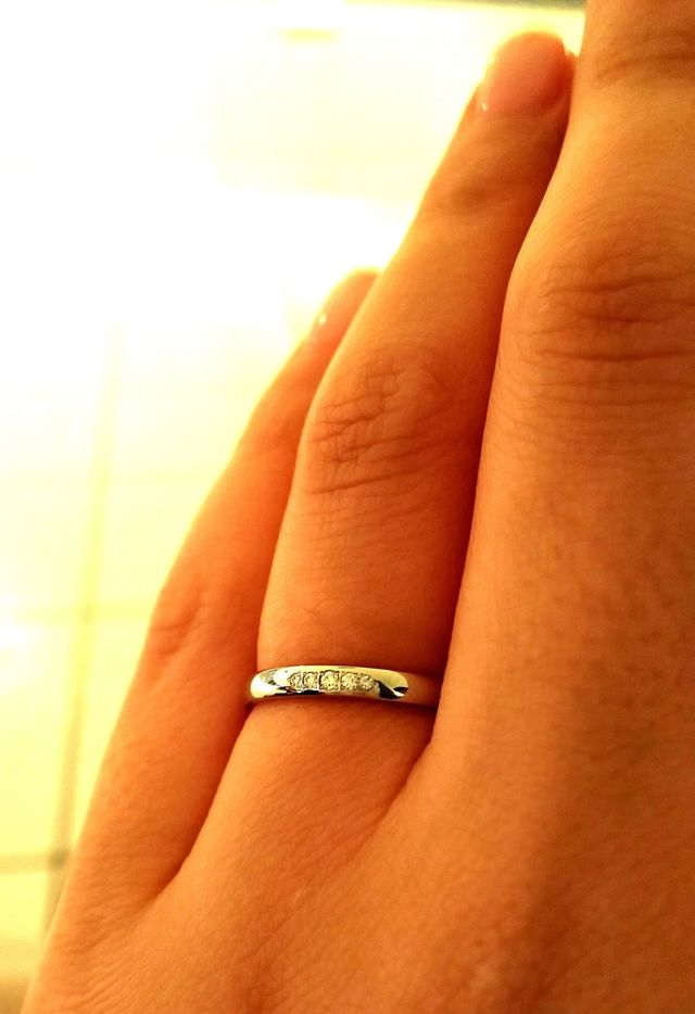 アイプリモのユノーを結婚指輪に選びました