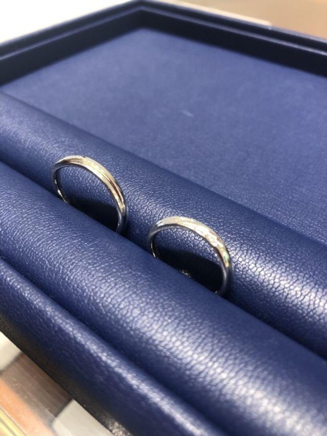結婚指輪を購入しました!