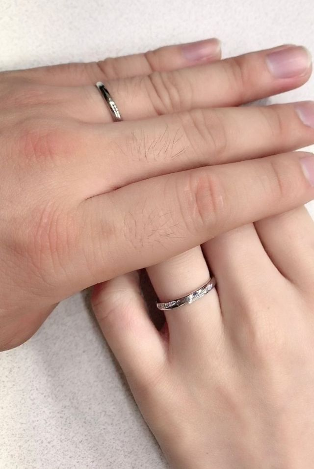 2人が好きな名前の指輪だったので即決めさせていただきました。