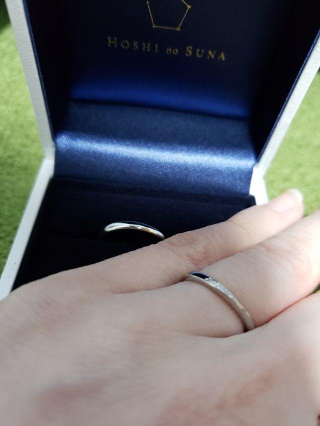 指輪の種類はジュノーです